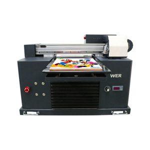 ocbestjet fokus pencetak kecil a4 saiz digital printing machine uv flatbed printer