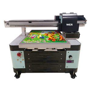 A2 saiz rata flatbed pencetak untuk logam / kes telefon / kaca / pen / cawan