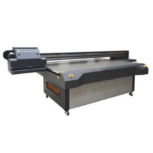 2.5m * 1.3m definisi tinggi ricoh gen 5 digital uv flatbed printer printer