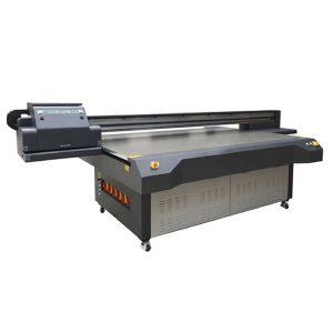 Pencetak seramik digital berwarna-warni 2513 xaar 1201 kepala pencetak katil rata uv
