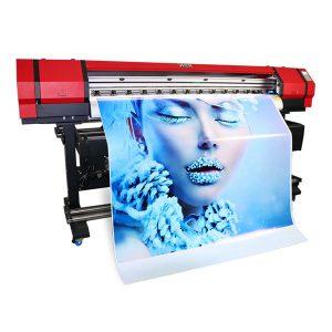 kepala tunggal xp600 1.6m gulung dalam pencetak inkjet gulung