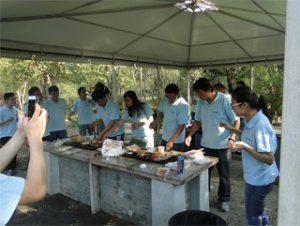 BBQ di Gucun Park, Autumn 2014