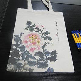 Beg kertas percetakan kanvas oleh pencetak t-shirt A2 WER-D4880T