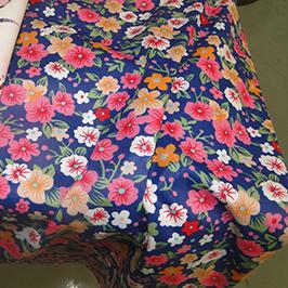 Percetakan tekstil digital sampel 1 oleh pencetak tekstil digital WER-EP7880T