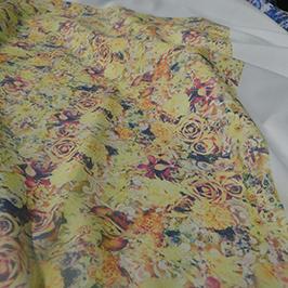 Percetakan tekstil digital sampel 3 oleh pencetak tekstil A1 digital WER-EP6090T