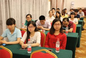 Mesyuarat kumpulan di Wanxuan Garden Hotel, 2015 2