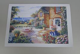 Kanvas Minyak yang dicetak oleh pencetak pelarut eko 2.5m (8 kaki) WER-ES2501 2