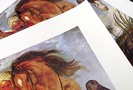 Kanvas Minyak dicetak oleh pencetak pelarut eko 2.5m (8 kaki) WER-ES2501