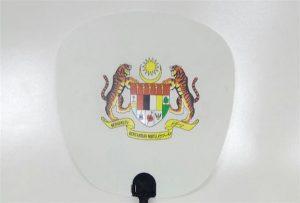 Sampel Kipas Plastik yang dicetak oleh pencetak uv saiz 601U1