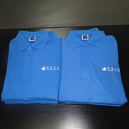 Polo baju percetakan disesuaikan sampel oleh pencetak t-shirt A3 WER-E2000T