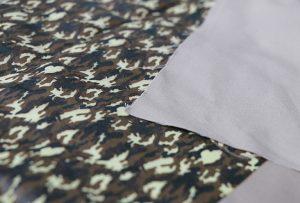 Percetakan tekstil sampel 1 oleh mesin printng tekstil digital WER-EP7880T
