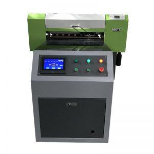 pvc pencetak format besar pencetak kanvas golf ball printing machine WER-ED6090UV
